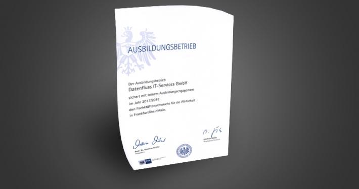 Zertifikat Ausbildungsbetrieb
