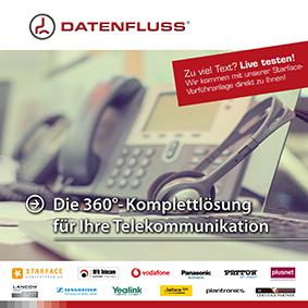 datenfluss-it flyer telekommunikation 2021